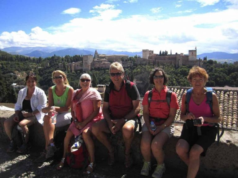 Group walking holidays Spain